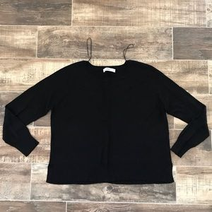 Zara Long Sleeved Side Slit Sweater
